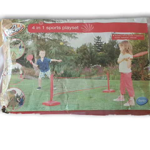 4 In 1 Sports Play Set