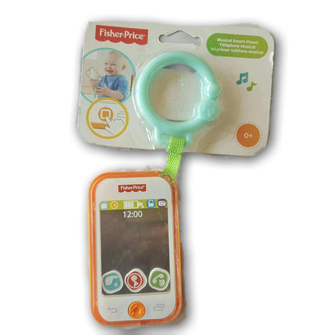 Fisher Price Muscial Smart Phone New