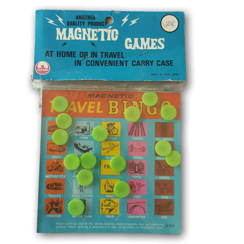 Magnetic Travel Game Set New