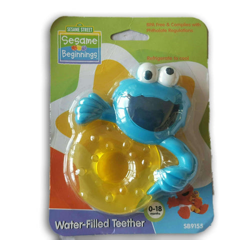 Sesame Street Water Filled Teether New