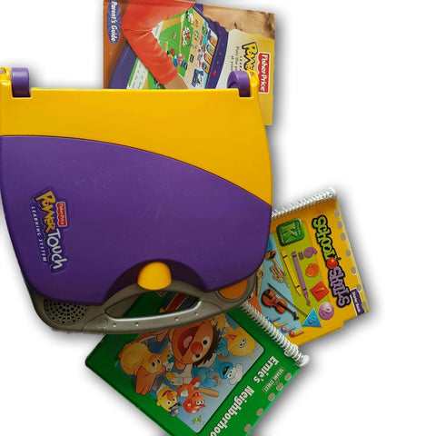 Fisher Price Power Touch Learning System With 2 Books