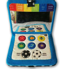 Sassy Electronic Cloth Colour Book - Toy Chest Pakistan