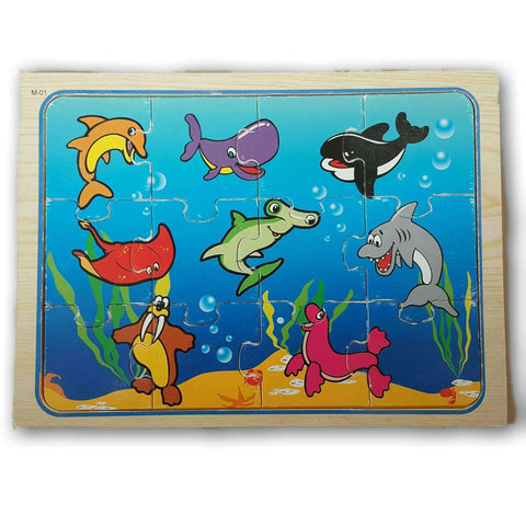 Under Water Wooden Jigsaw Puzzle