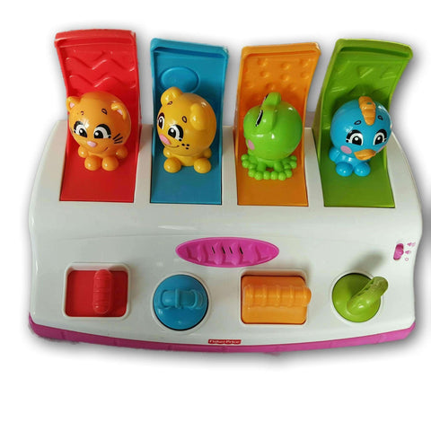 Fisher Price Pop Up Animals