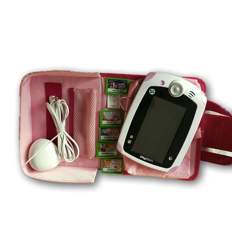 Leapfrog Explorer With Charger And Case (Includes Three Cartridges)