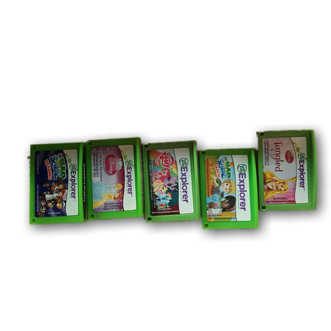 Leapfrog Explorer Cartriges (Set Of 5)
