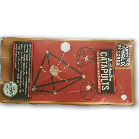 Guiness World Records- Build Your Own Catapult