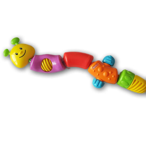 Fisher Price Snap Lock Caterpillar (5 Links)