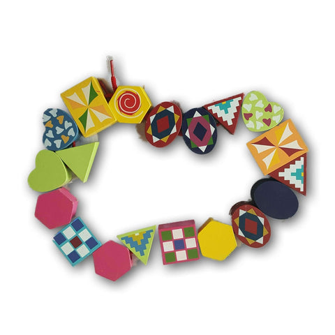 Stringing Beads- Shapes