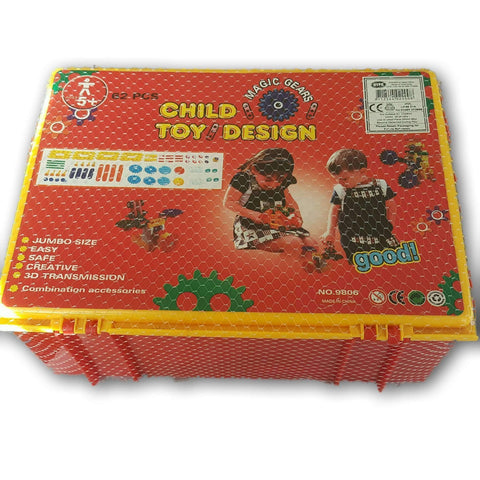 Child Toy Design (Large Set)