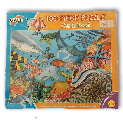 Coral Reed 100 Pc Puzzle