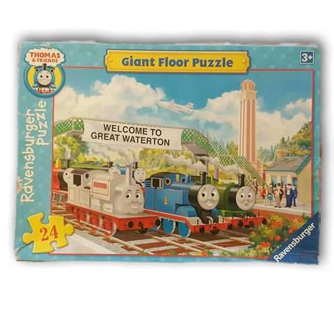 Thomas And Friends Giant Floor Puzzle 24 Pc