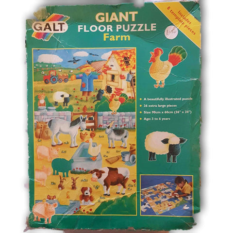 Giant Floor Puzzle Farm