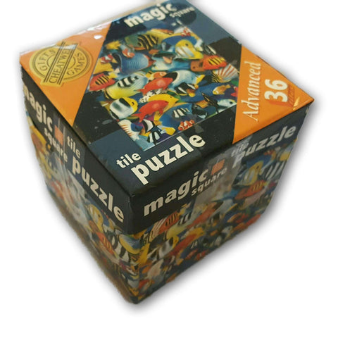 Tile Puzzle Advanced 36 Pc