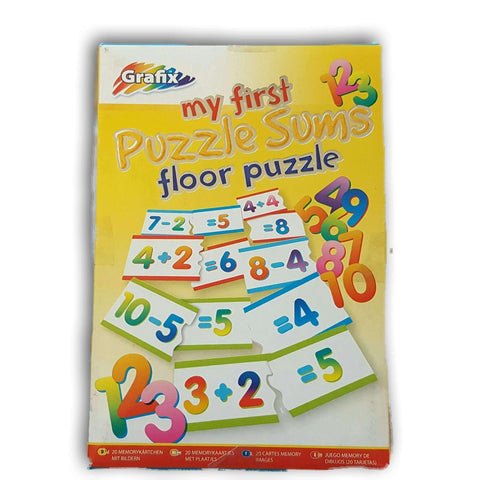 My First Puzzle Sums Floor Puzzle