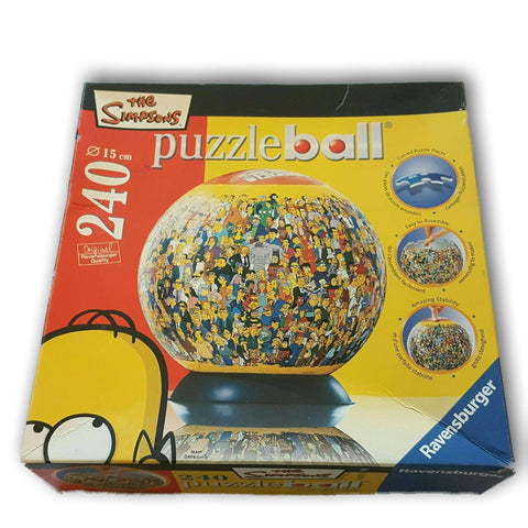 The Simpsons Puzzleball 260Pc