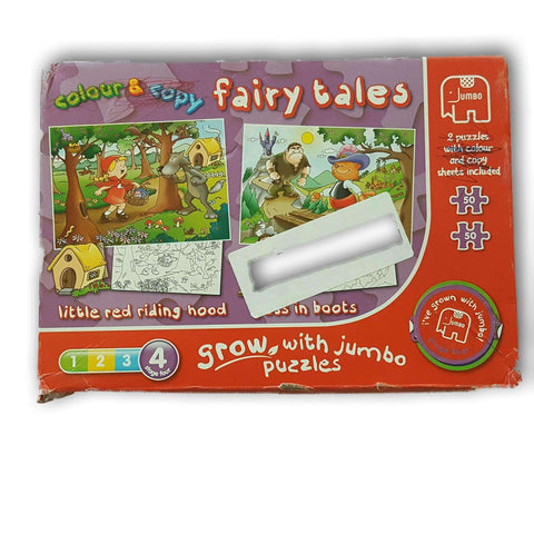 Fairy Tales 2 In 1 Puzzle