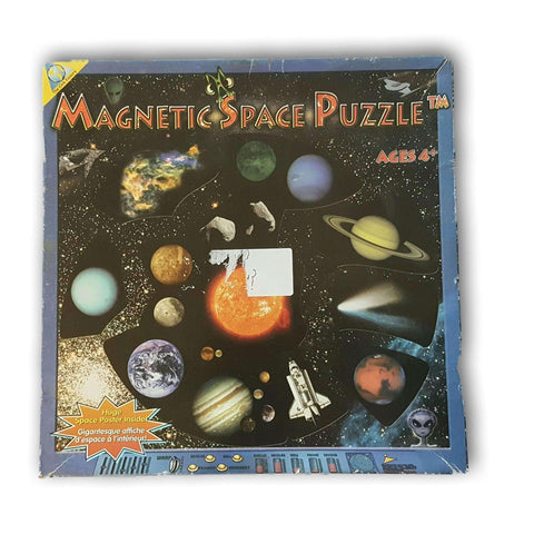 Magnetic Space Puzzle