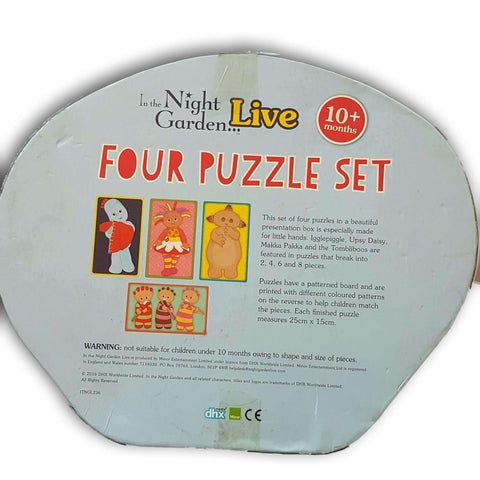 In The Night Garden Four Puzzle Set