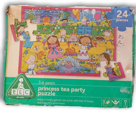 Princess Tea Party Puzzle 24 Pc