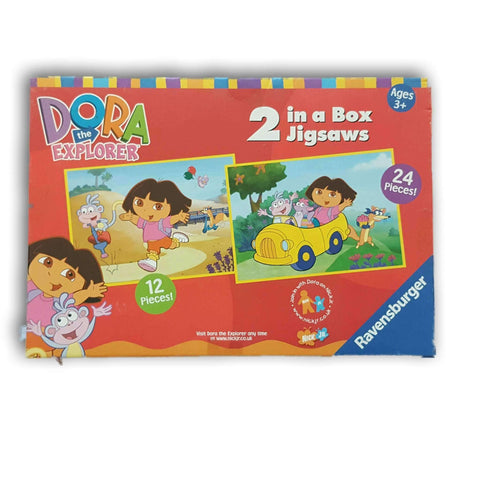Dora 2 In A Box Jigsaw Puzzle