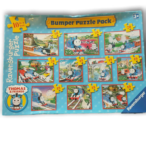 Thomas Train Bumper Puzzle Pack 10 In 1