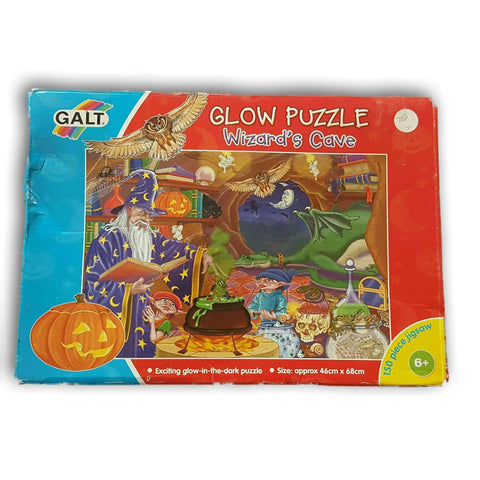 Glow In The Dark Puzzle- Wizard'S Cave