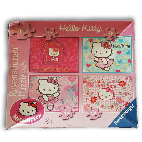 Hello Kitty 4 In 1 Puzzle
