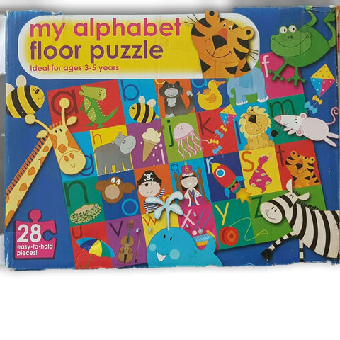 My Alphabet Floor Puzzle 28 Pc