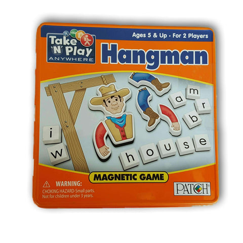 Hangman Travel Magnetic Set