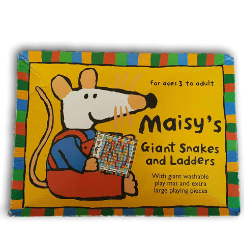 Maisy'S Giant Snakes And Ladder