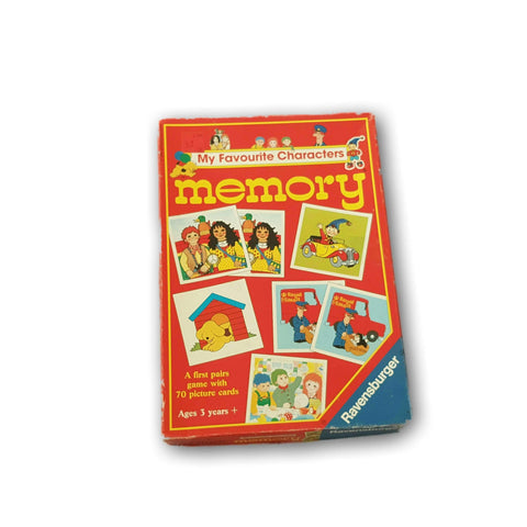 My Favourite Characters Memory Game
