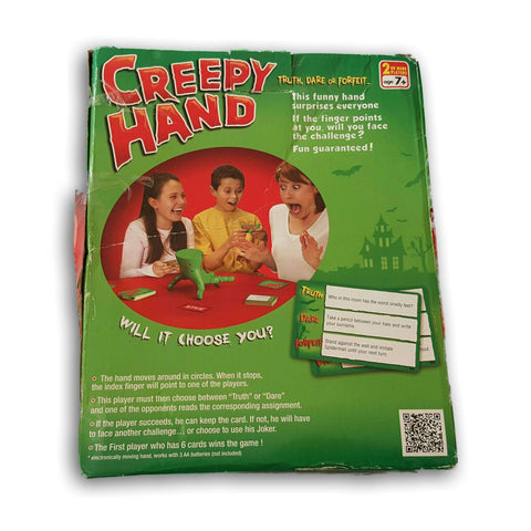 Creeoy Hand (Truth, Dare Of Forfeit)
