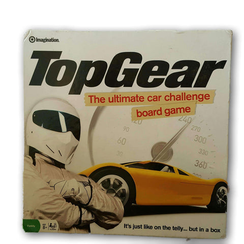 Top Gear- The Ultimate Car Challenge Board Game