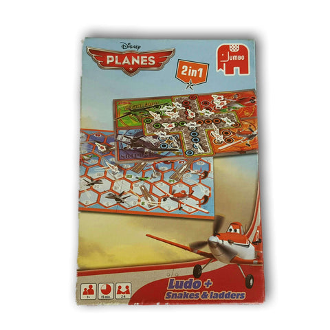 Planes 2 In 1 Ludo + Snakes And Ladders