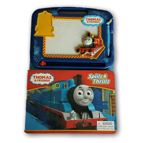 Thomas Train Book And Doodle Pad