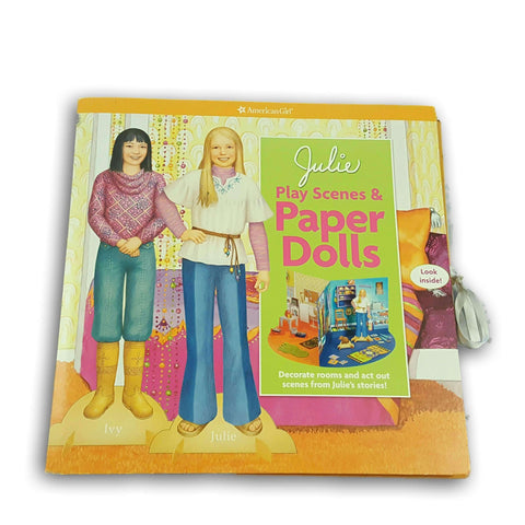 Julie Play Scenes And Paper Dolls