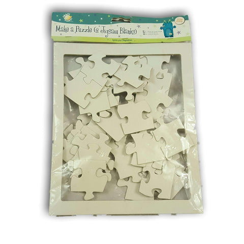 Make A Puzzle (Blank Jigsaws) New