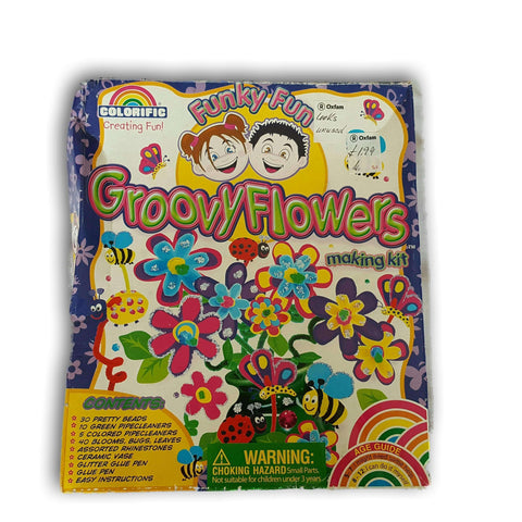 Groovy Flowers Making Kit