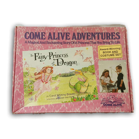 Come Alive Adventures- Award Winning Book And Costume