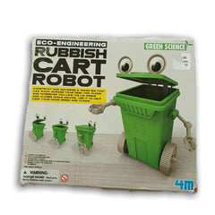 Eco Engineering Rubbish Cart Robot - Toy Chest Pakistan