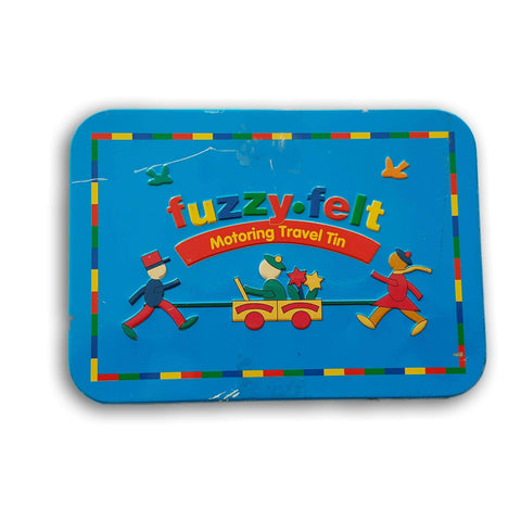 Fuzzy Felt Motoring Travel Tin