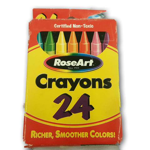 Rose Art Crayon Pack Of 24