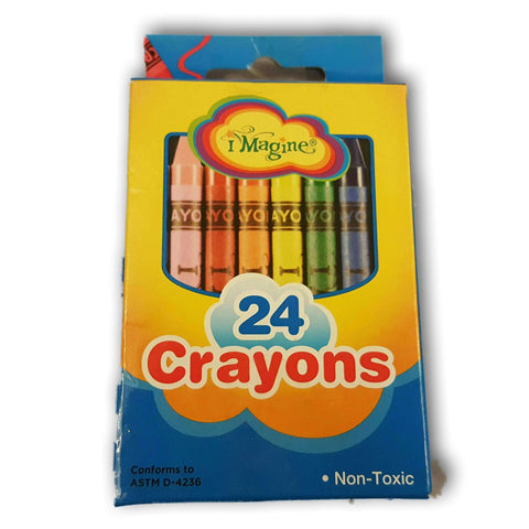 Imagine Crayons Pack Of 24