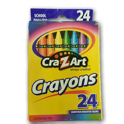 Crazart Crayons Pack Of 24