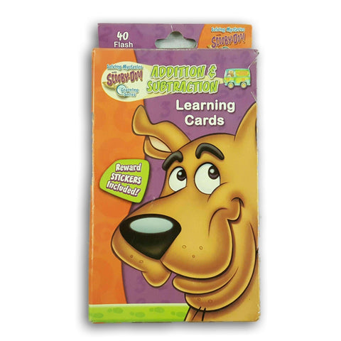 Scooby Doo Addition And Subtraction Learning Cards