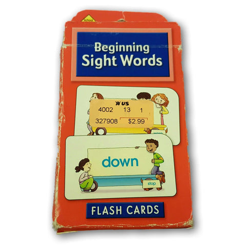 Beginning Sight Words Flashcards