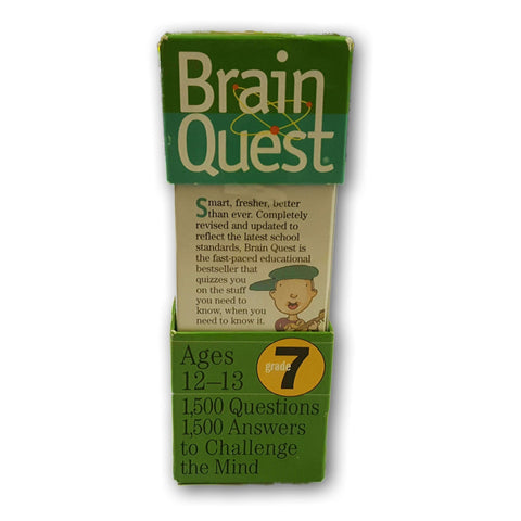 Brain Quest- Grade 7 Ages 12 To 13