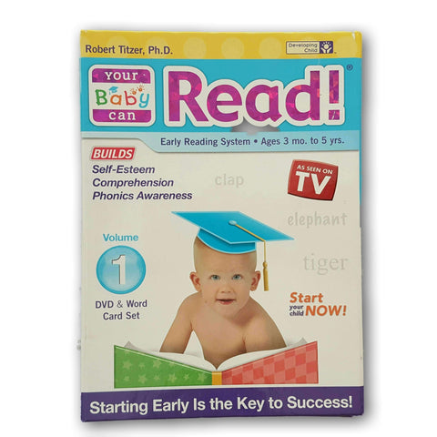 Your Baby Can Read Cd And Flashcard Set