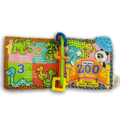 Cloth Book: Little Tikes Zoo